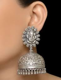 Buy Tribal German Silver Jhumka Apala U2026 Pinteres U2026