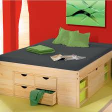 space saving double bed bedroom small bedroom with folding storage bed and drawer as