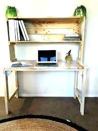 Small Computer Desk With Shelves Computer Desk Storage Desk Captivating Square White Wooden Craft