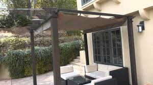 Pergola With Fabric by Exterior Simple Hampton Bay Patio Furniture With Cozy Concrete