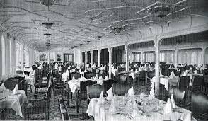 titanic first class dining room titanic on the open sea what was on the menu for the doomed