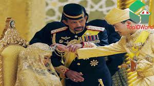 sultan hassanal bolkiah diamond car 10 richest royal families in the world youtube