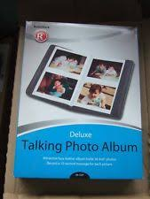 talking photo album talking photo album ebay
