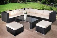 Rattan Garden Furniture Sofa Sets 8 Seater Rattan Garden Furniture Garden Furniture Ebay
