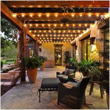 Outside Patio String Lights Outdoor Patio String Lighting As Your Reference Erm Csd