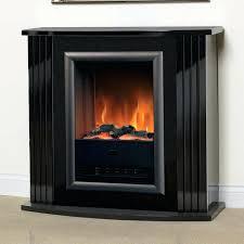 gloss black electric fireplace suite novara a console with logs sap 300 b dimplex laa mantel