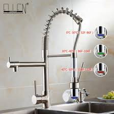 wholesale kitchen faucets discount led brushed nickel kitchen faucets 2017 led brushed