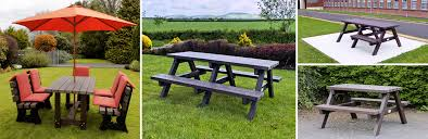 Recycled Plastic Benches For Schools Irish Recycled Products Recycled Plastic Garden Furniture