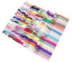 no crease hair ties elastic hair ties set of 25 colorful no crease ouchless ponytail