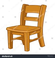 Wooden Chair Png Wood Chair Isolated Illustration On White Stock Vector 146198417