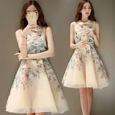 yellow dress aliexpress buy hot sale korean fashion lovely floral print