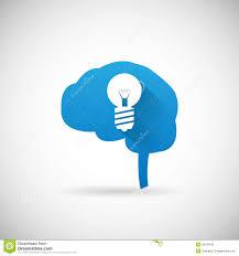 Creative Design Ideas by Creative Idea Symbol Brain And Lightbulb Silhouette Icon Design