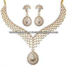 new gold set heavy look diamond gold necklace 2013 new design diamond necklace