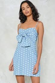 nasty gal like it or knot polka dot dress kendall jenner wearing