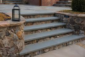good exterior concrete cantilevered stair frontal overview outdoor