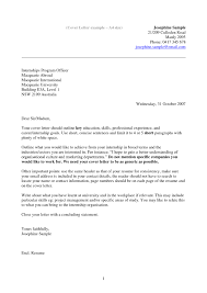 student cover letter examples cover letter help for college students