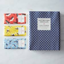 where to buy mast brothers chocolate mast brothers chocolate signed cookbook with 3 chocolate bars on