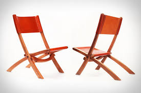 luxe collapsible seating nokori folding chair