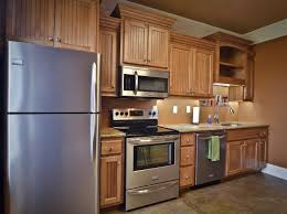 exellent dark maple cabinets kitchen nice inside decorating ideas