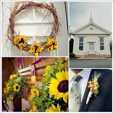 Sunflower Decorations Sunflower Theme Wedding Rustic Wedding Chic