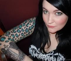 61 leopard print shoulder tattoos