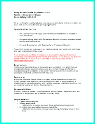 Insurance Resume Insurance Claims Representative Resume Virtren Com