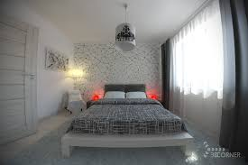 bedroom beautiful bold black and white bedrooms with bright pops