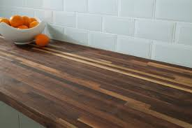 butcher block countertop oak counter u0026 island tops best 25 black walnut builder grade butcher block countertop 8ft 96in x 25in floor and decor
