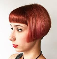Blunt Cut Bob Hairstyle Hair Style Fashion