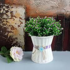 plastic flower pots medium size flower pots fashion balcony garden