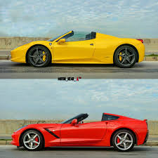 Ferrari F12 Convertible - choose one ferrari 458 vs corvette c7 convertible