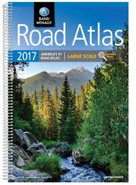 Road Map Of Usa With States And Cities by Road Atlas 2017 Large Scale Rand Mcnally 0070609015514 Amazon