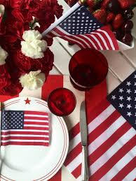 Fourth Of July Tablecloths by Effortless Entertaining Fourth Of July La Dolce Vita