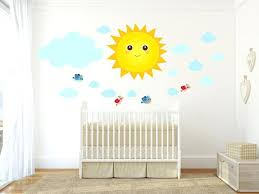 stickers repositionnables chambre bébé stickers repositionnables chambre bebe stickers chambre bacbac rayon