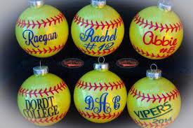 softball ornament sportzcrazymama