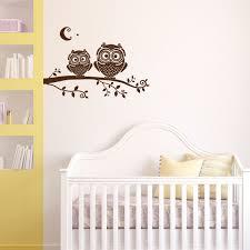 Owl Wall Decals Nursery by Tree Branch Owls Wall Decal Nursery 1278 Innovativestencils