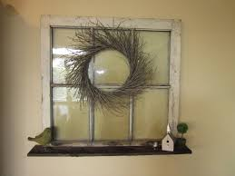 Decorative Wreaths For Home by 30 Diy Craft Projects Using Old Vintage Windows U2013 Cute Diy Projects