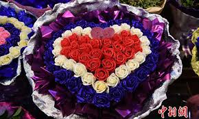 Flowers For Sale Flowers For Romantic Day Global Times