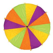 amazon com pacific play tents playchute 10 foot kids parachute