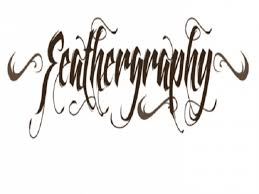 cool tattoo fonts feathergraphy decoration font tattoo by mans