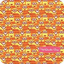 minion wrapping paper 1 in a minion orange bello minions yardage sku 23994 o