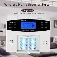 wifi gsm home burglar security alarm system diy