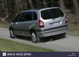 opel zafira 2003 interior car opel zafira van model year 2005 silver standing