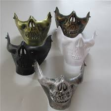 halloween mask for sale popular lower jaw mask buy cheap lower jaw mask lots from china