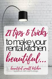 21 ideas to make your rental kitchen a stylish and peaceful haven