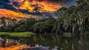 South Carolina landscapes images Nature landscape sunset hdr river reflection summer south jpg
