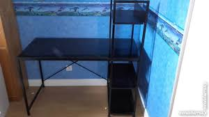 bureau metal et verre bureau metal verre offres juin clasf