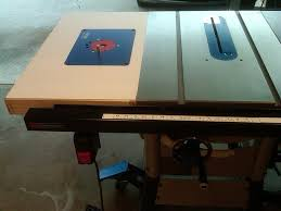 Shopmaster Table Saw Table Saw Router Extension Delta 36 725 By Ericlew Lumberjocks