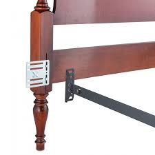 How To Attach A Footboard To A Bed Frame Headboard And Footboard Adapter Conversion Plates Set Of 4 Plates