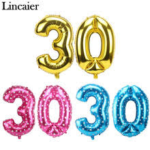 birthday balloons for men 30th birthday balloons promotion shop for promotional 30th